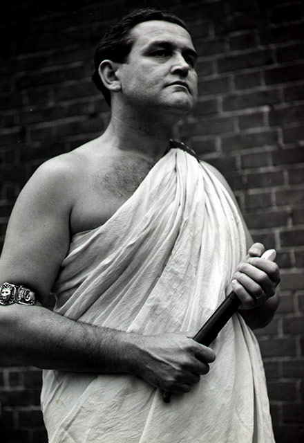 Norman as Brutus, Sheffield